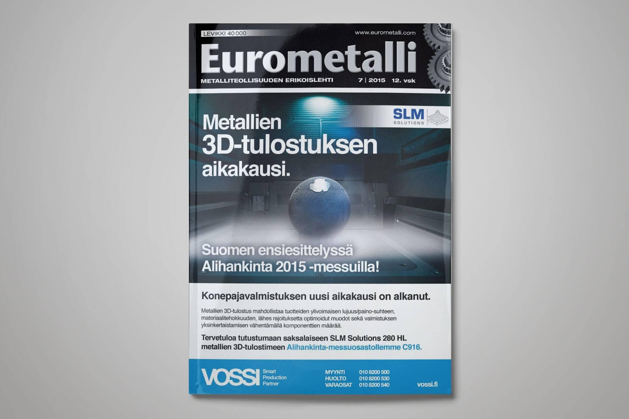 Eurometalli mainonta