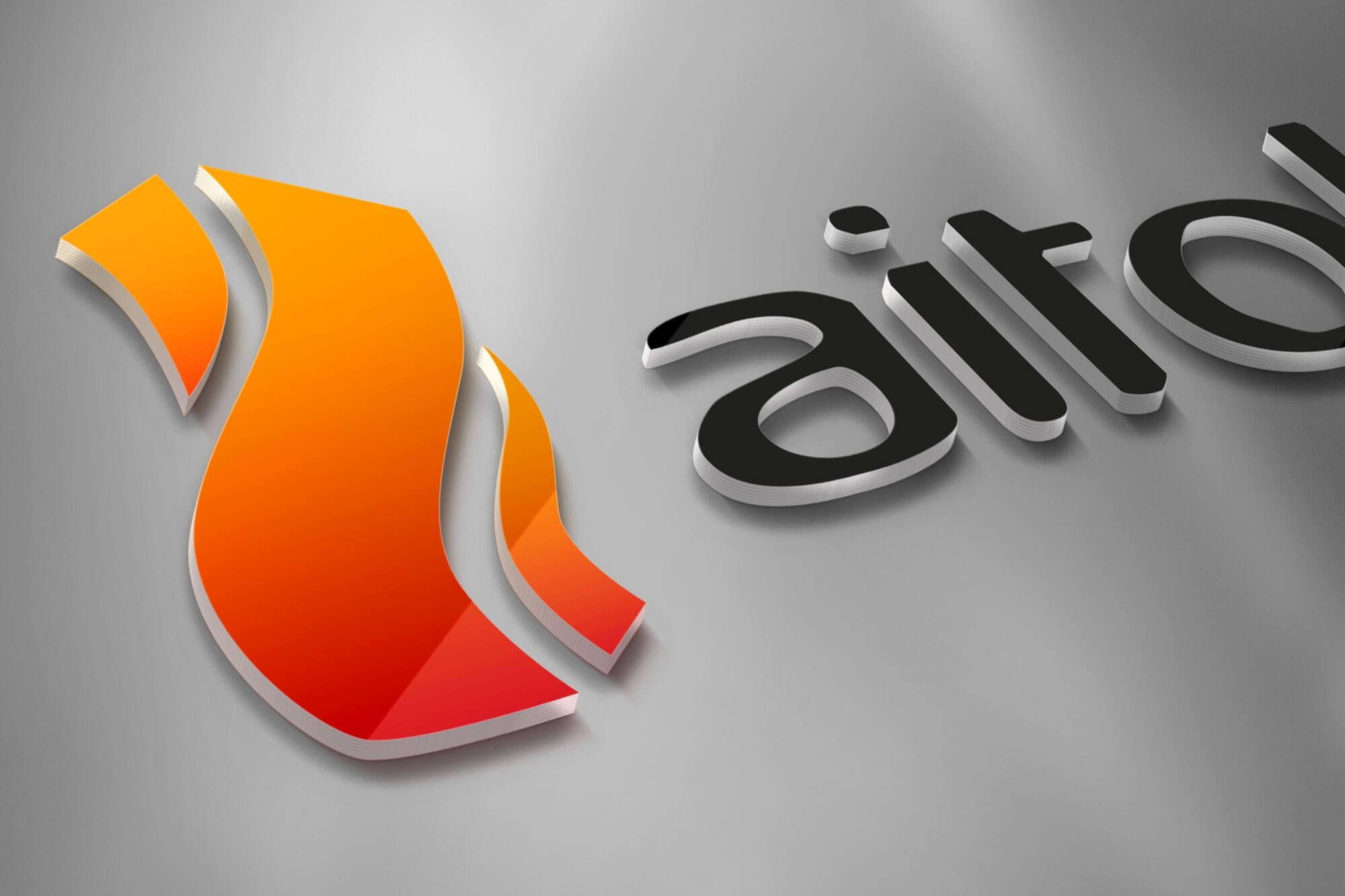 Aitokivi logo ja brändi