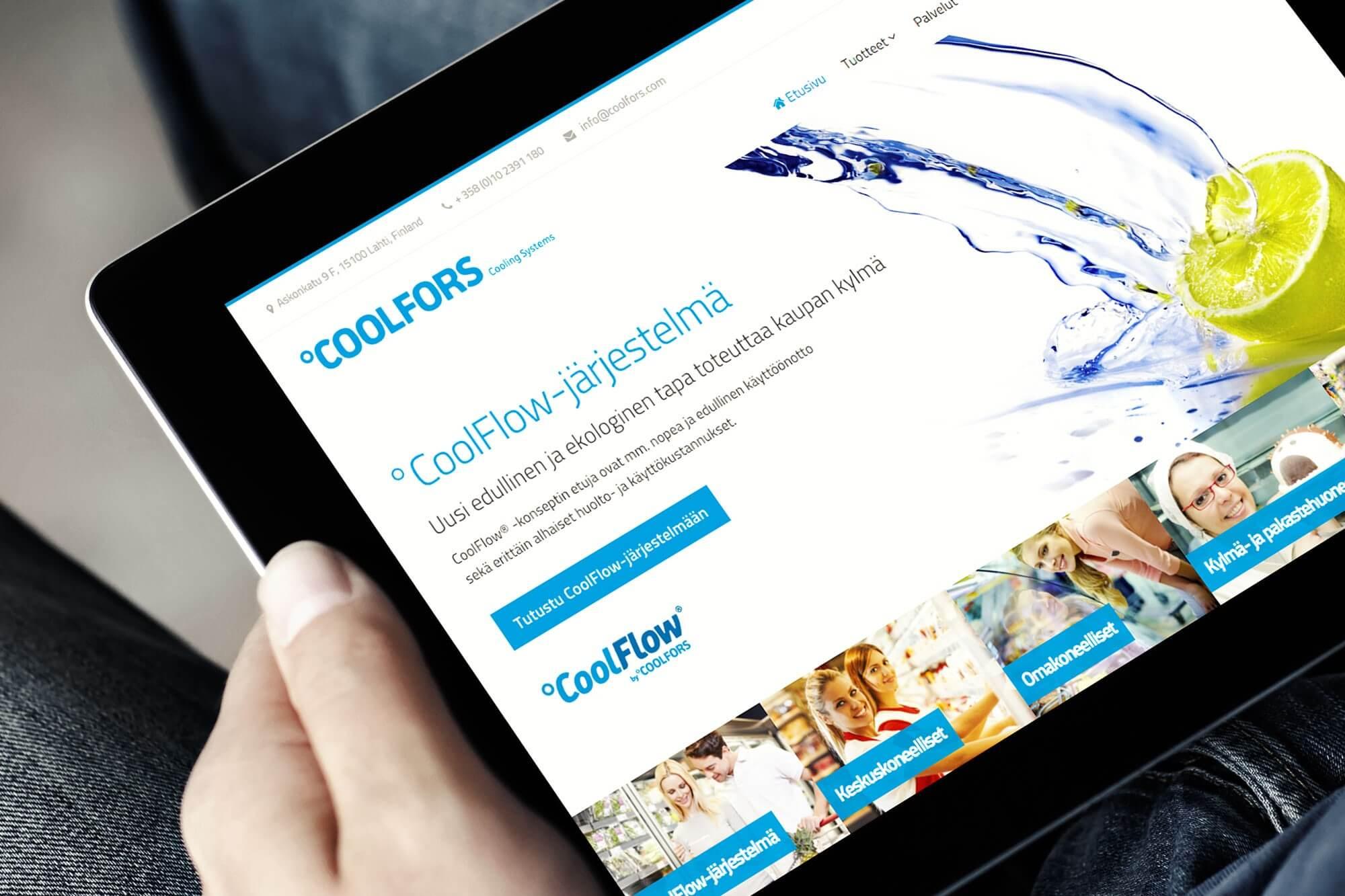 CoolFors verkkosivut