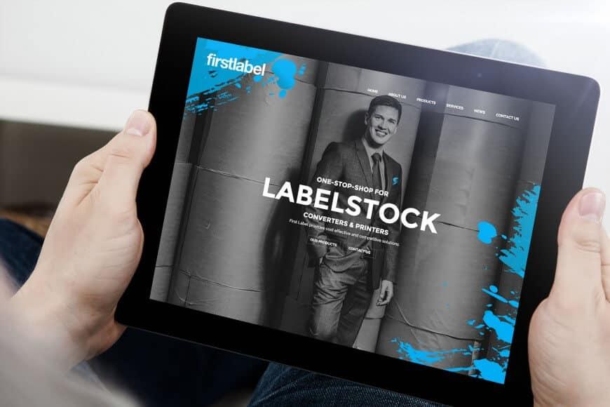 FirstLabel brändi ja verkkosivut