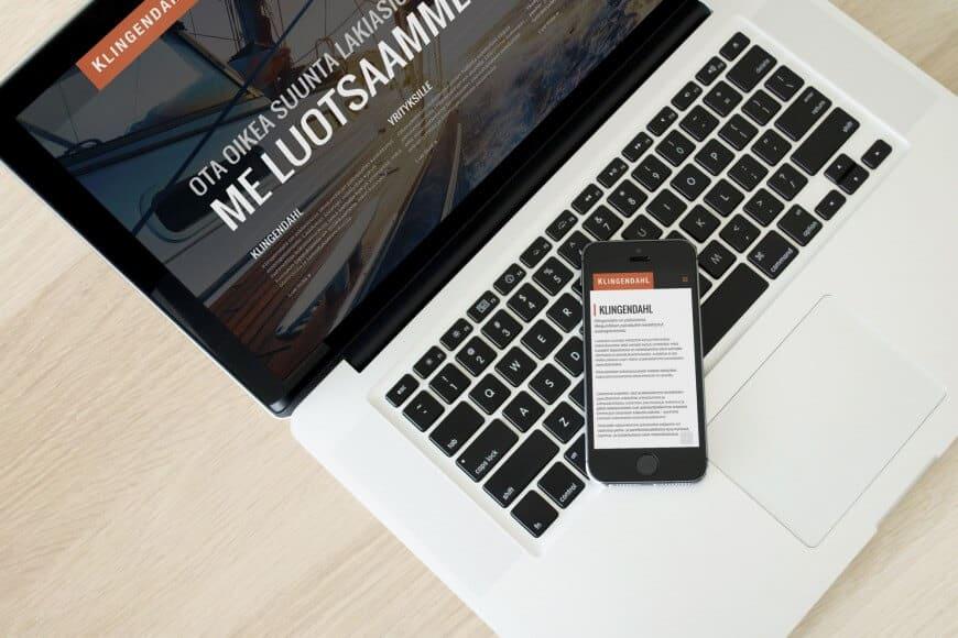 Liikejuridiikan palveluihin erikoistunut asianajotoimisto uudisti verkkosivunsa