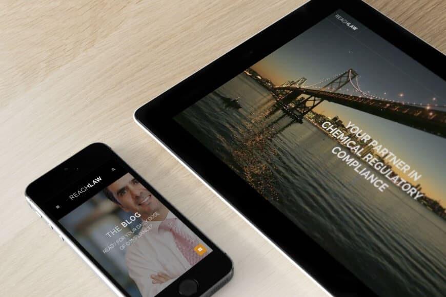 REACHLaw brändi ja verkkosivut