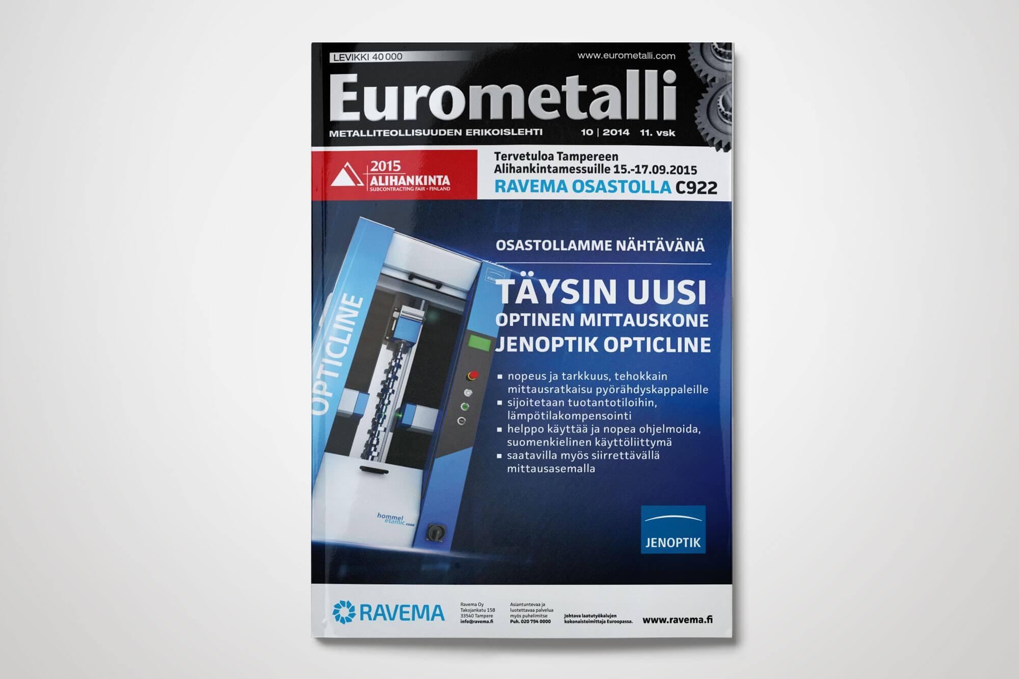 Eurometalli mainontaa