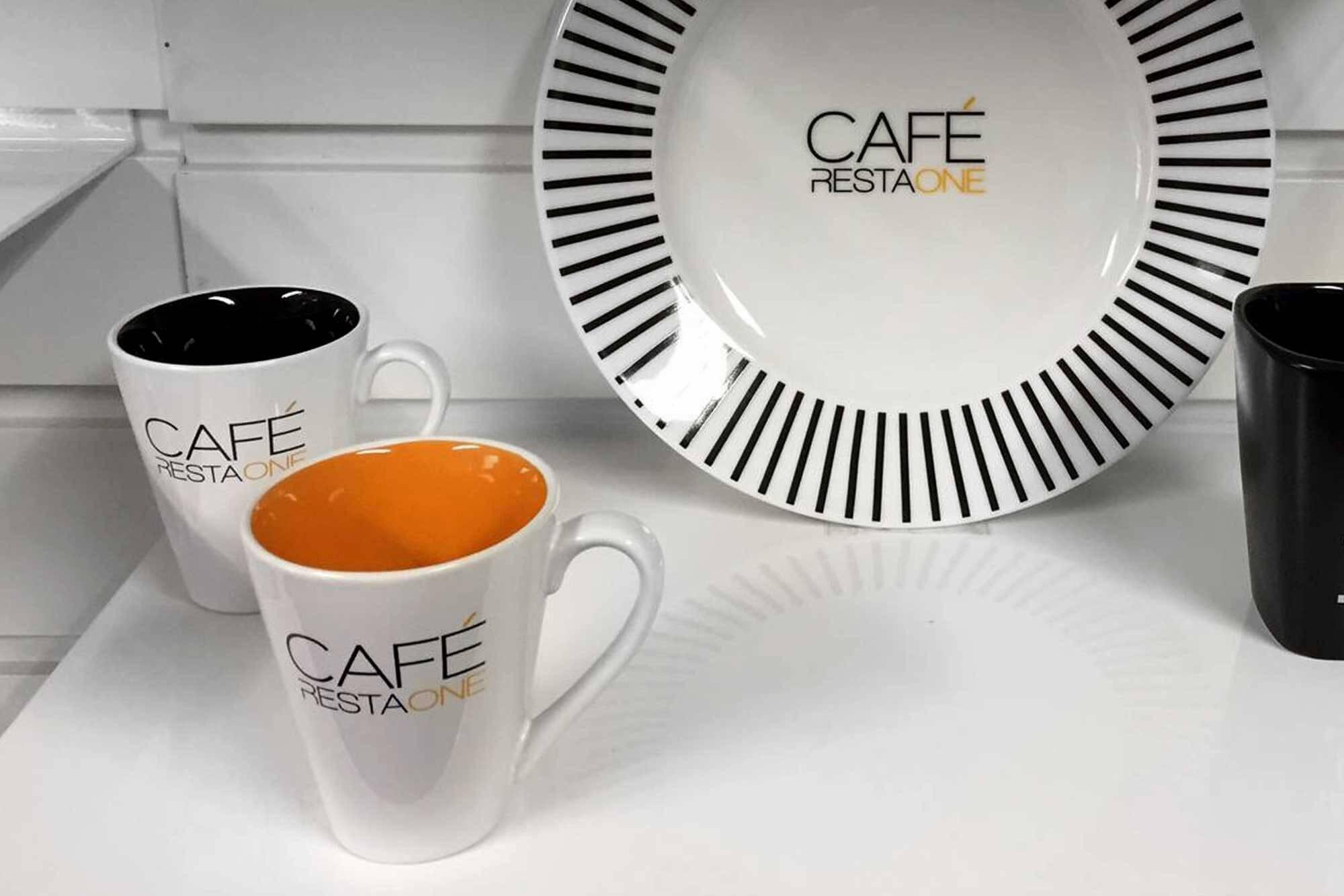 CAFÉ RestaOne logo