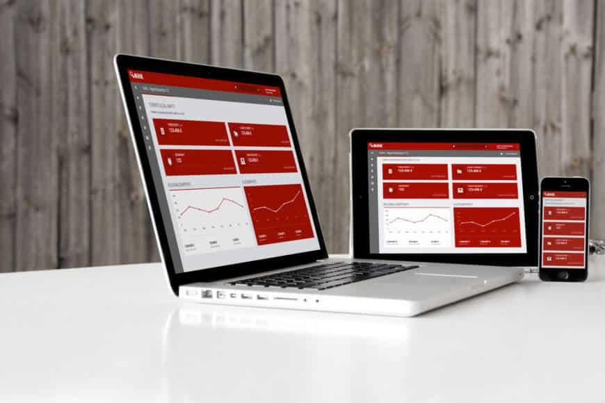 Responsiivisen myyntisovelluksen UI-suunnittelu