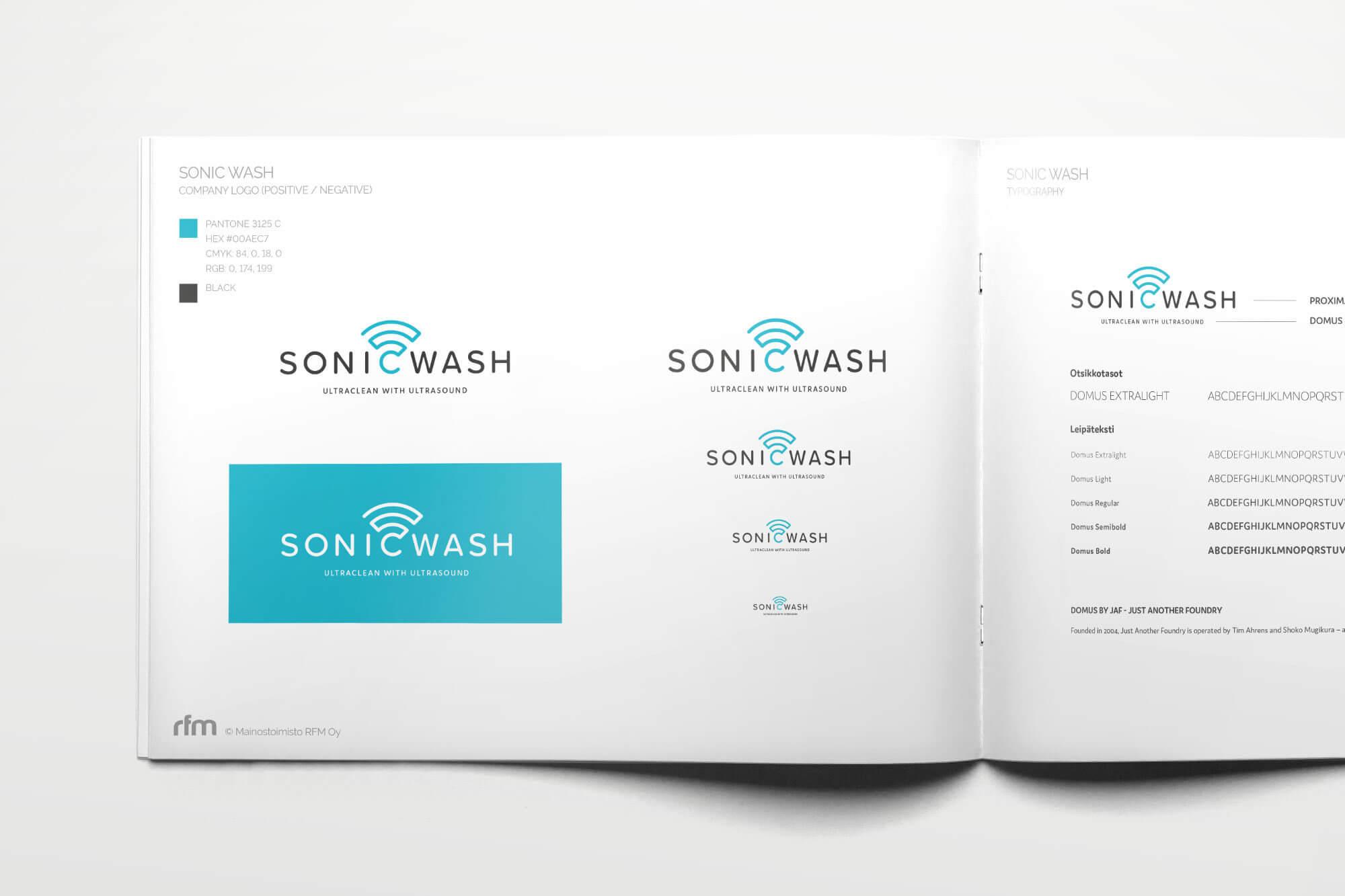 Sonicwash Brandbook