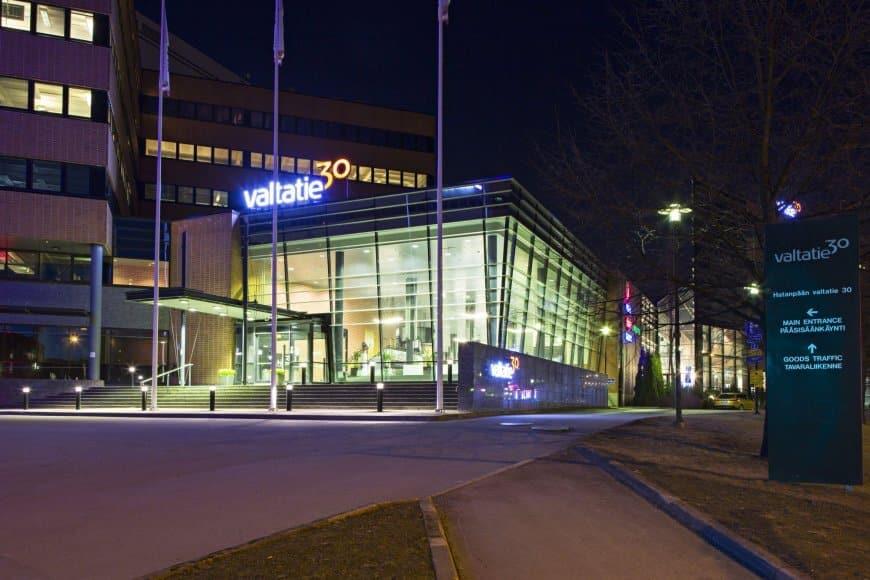 Business-Center Valtatie30 halusi palvella verkossa paremmin