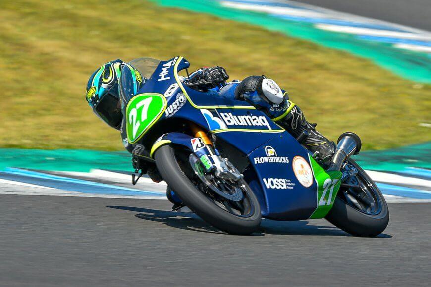 Rico Salmela on kansainvälisen Moto4 -sarjan nuori lupaus