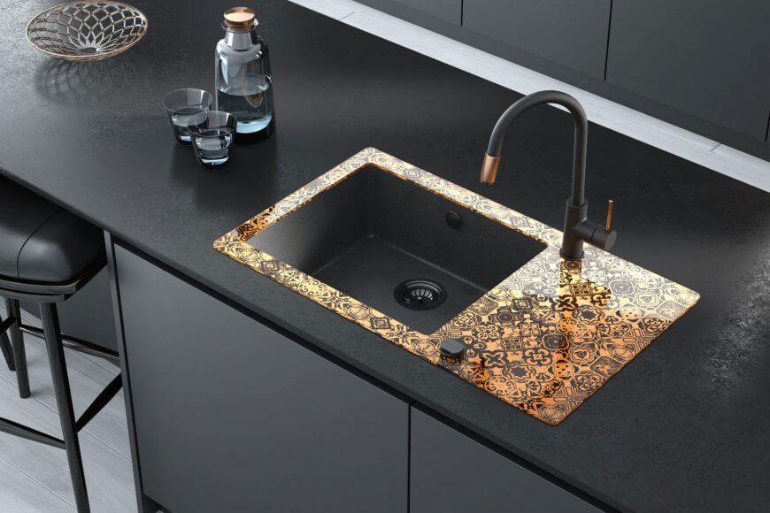 Elegantteja keittiö- ja kylpyhuonekalusteita moderniin kotiin