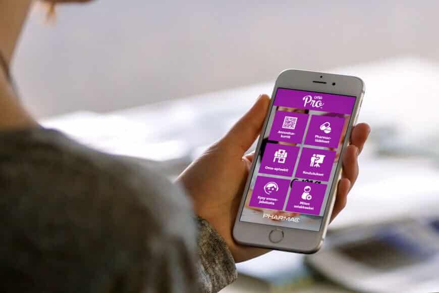 OmaPro-mobiilisovellus parantaa lääkitysturvallisuutta